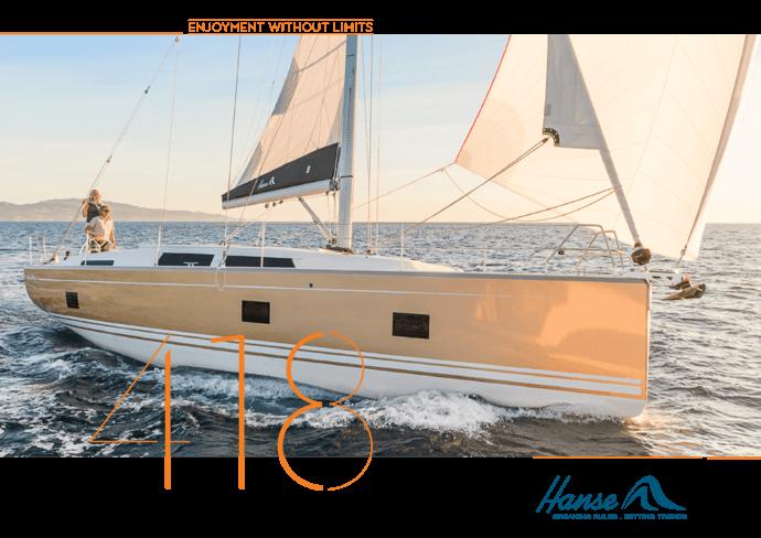 Hanse 418 Brochure | Le letture sullo yacht che ami. Informati bene quando prendi la tua decisione e richiedi la tua brochure oggi per lo yacht che hai selezionato. Oppure scarica la borchure ora in formato PDF. | Hanse