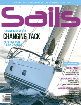 Hanse 418 Test Review Sails / August & September 2018 | Hanse´s 418 is a template for enjoyable sailing: light and manageable, yet still powerful. And as Editor Scott Alle found out, it's also a whole lot of fun and comes with a host of welcome extras. | Hanse