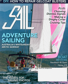 Hanse 418 Test Review SAIL - January 2019 | A smart new cruiser that makes it easy to be a good sailor | Hanse