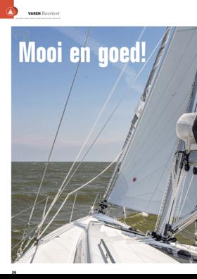 Hanse 418 Sail test: Varen Magazine Belgium (BE) | We accompany owner Bert on his first trip on his new Hanse 418. | Hanse