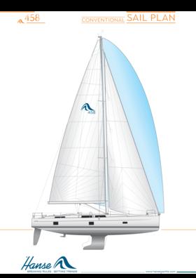 Hanse 458 | обычный план плавания | Hanse