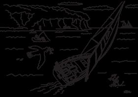 Hanse 458 Разрисовочная картинка для детей | Hanse