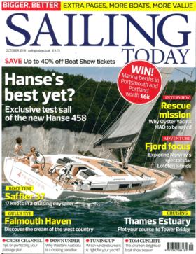 Sailing Today Oct 2018: Hanse 458 Тестовая проверка (EN) | Ганза уже лучшая? Огромно успешный 455 Ганзе был заменен на их новый 458. Так как же новая яхта смотрится в сравнении со своей предшественницей? Сэм Джефферсон узнает... | Hanse