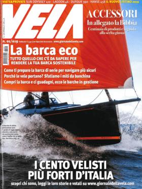 Vela N° 01/019 - Febbraio: Hanse 458 обзор (IT) | Hanse 458 - Новый 14-метровый парусник с немецкой верфи может плыть с сильным ветром даже в одиночестве. Множество новых функций также внутри, чтобы увеличить полезное пространство. | Hanse