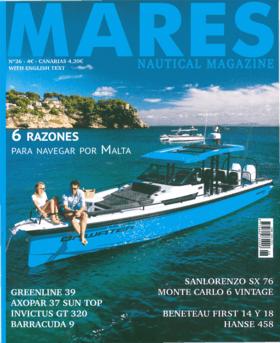 Mares Nautical Magazine N°26 - 2019: Hanse 458 Тестовый обзор (ES) | Новый Hanse 458 предназначен для всех тех владельцев, которые любят море, любят парусный спорт и любят быструю и комфортную лодку. | Hanse