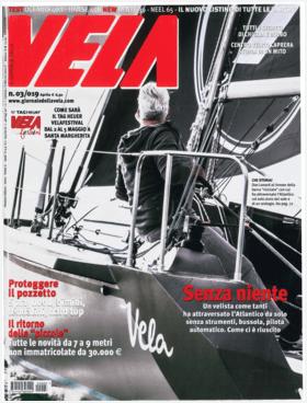Vela N° 03/019 - Aprile: Hanse 458 Тестовый обзор (IT) | Ганза 458 - Когда лодка рулит сама по себе - На 458 мы смогли маневрировать в одиночку даже при сильном ветре, что стало хорошим испытанием для новой Ганзы. | Hanse