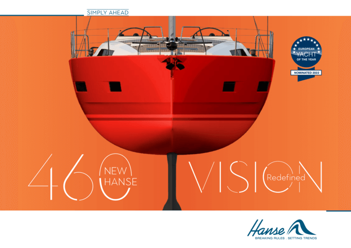 Hanse 460 Brochure | The literature for the yacht you love. Be best informed when taking your decision and request your brochure today for the yacht you have selected. Or download the brochure now as a PDF. | Hanse