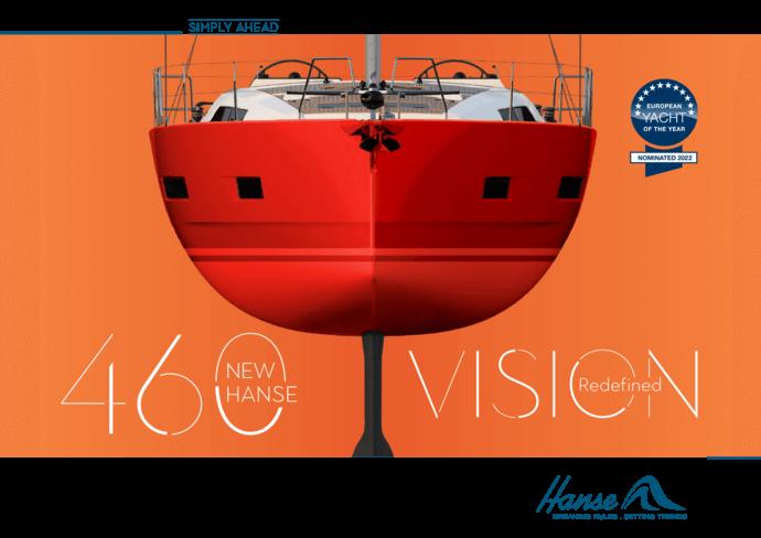 Hanse 460 小册子 | 您所喜爱的游艇的资料。当您做出决定时,您将获得最好的信息,今天就为您选择的游艇索取宣传册。或者现在就下载PDF格式的宣传册。 | Hanse