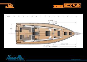 Hanse 460 技术甲板计划 | Hanse