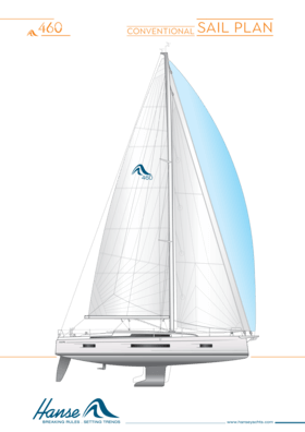Hanse 460 俗帆图 | Hanse