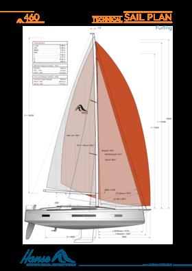 Hanse 460 帆板技术方案 (Cruising) | Hanse