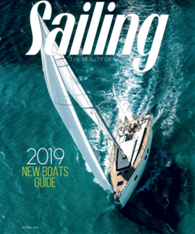 Sailing October 2018: Hanse 508 bildiri (EN) | Hanse 508. Sailing the latest bluewater cruiser from German-based Hanse Yachts can all be accomplished from the helm, thanks to its self-tracking jib, and all lines led aft to the twin winches at the twin helms, including sheets and reffing lines. | Hanse