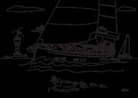 Hanse 548 Dibujo para colorear para niños | Hanse
