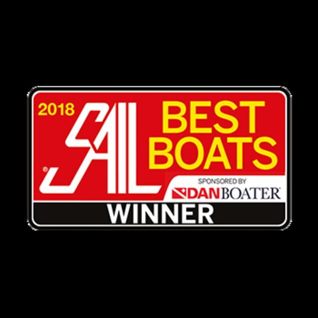 Hanse 588 Best Boats (Sail Magazine) 2018 | Winner Best Large Monohull 50ft and above | Hanse