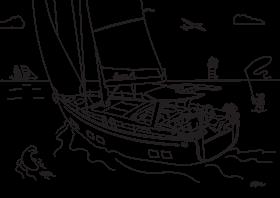Hanse 588 Dibujo para colorear para niños | Hanse
