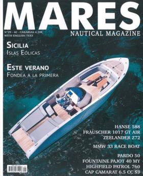 Mares Nautical Magazine N°29 - 2019: Hanse 588 | Hanse 588 Merecidamente galardonada - El Hanse 588 es un yate extraordinario que ha marcado tendencia con sus innovaciones y su diseño y ha destacado siempre por su acertada combinación de agilidad, deportividad y la elegancia de sus líneas. | Hanse