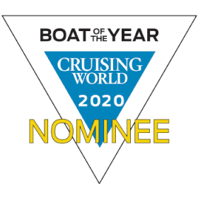 Hanse 675 Boat of the Year Cruising World 2020 | nominee | Hanse