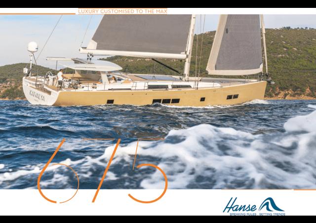 Hanse 675 Broschüre | Sie ist einzigartig. Sie ist charakterstark. Und sie vereint selbstbewusst klare Linien mit einem exklusiven Ambiente. Erleben Sie den Luxus einer außergewöhnlich innovativen Yacht, die die Zukunft des Segelsports neu definiert. | Hanse