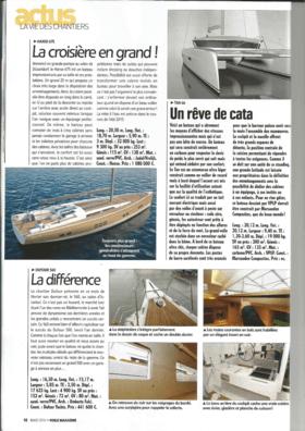 Voile Magazine March 2014: Hanse 675 Vorschau (FR) | Cruisen mit Stil! Mit großem Tamtam auf der Düsseldorfer Bootsmesse angekündigt, ist die Hanse 675 ein beeindruckendes Boot in Bezug auf Größe und Ausstattung. Ein großes 20-m-Boot, das eine sehr große Auswahl bei der Aufteilung der Unterkünfte bietet. | Hanse