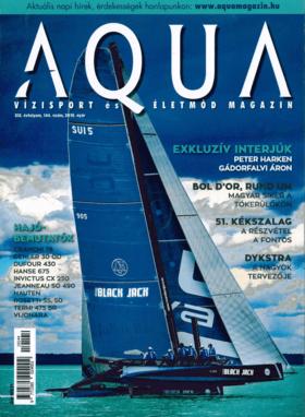 AQUA Magazine No. 144 Aug-Okt 2019: Hanse 675 Bericht (HU) | HANSE 675 Személyre szabott luxus | Hanse
