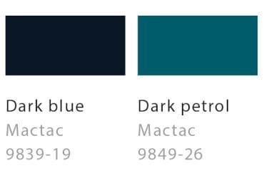 Dark blue / Dark petrol