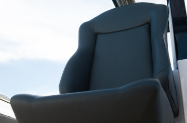helmsman seat upholstery – exterior - synthetic leather.jpg
