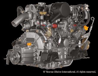 Engine (Diesel, approx. 29 hp) - saildrive, 2 blade folding propeller