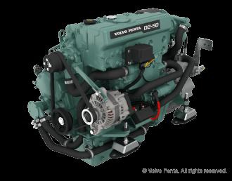 Engine (Diesel, approx. 51 hp) - saildrive, 3 blade folding propeller