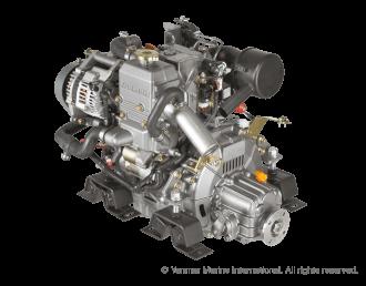 Engine (Diesel, approx. 13.6 hp) - saildrive, 2-blade folding propeller