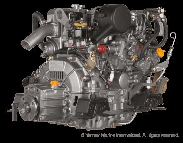 Engine (Diesel, approx. 29 hp) - saildrive, 2-blade folding propeller