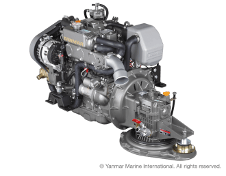 Engine (Diesel, approx. 39 hp) - saildrive, 2-blade folding propeller
