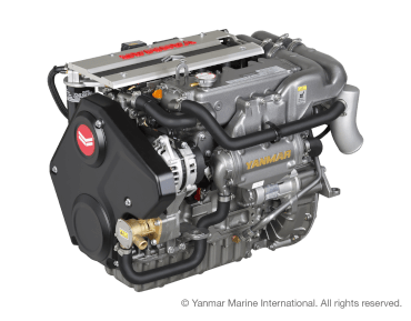Engine (Diesel, approx. 57 hp) - saildrive, 3-blade fix propeller