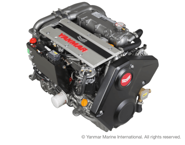 Engine (Diesel, approx. 80 hp) - saildrive, 2-blade fix propeller
