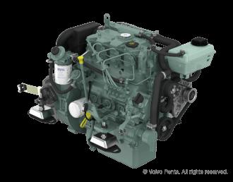 Engine (Diesel, approx. 38 hp) - saildrive, 3-blade fix propeller