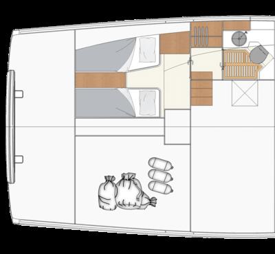 Decksaloon的主甲板佈局54