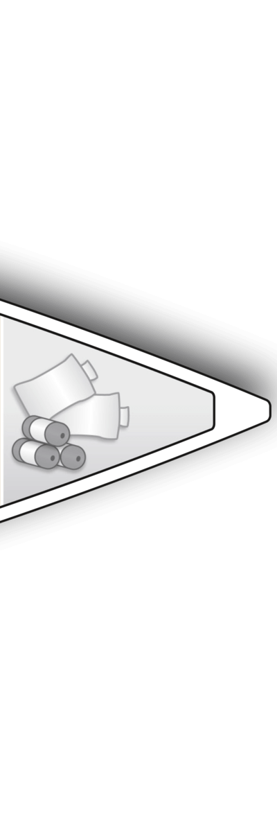 A1: Sail locker with extensive storage space