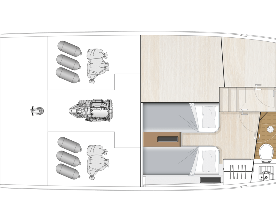 Layouts for Decksaloon 41