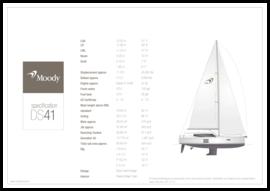 Moody Decksaloon 41 | Standard Specification | Moody