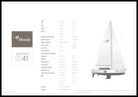 Moody Decksaloon 41 Spécifications standard | Moody