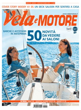 Moody Decksaloon 41: Review - Vela a Motore N°98 08-09/20 | Il dodici metri è il terzo arrivato nella gamma Decksaloon del cantiere Moody. Una barca che fa del comfort e della sicurezza in navigazione le sue dot i migliori. | Moody