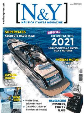 Moody Decksaloon 41: Nautica y Yates N°51 | La marca propiedad del Grupo Hanse presenta este nuevo Deck Saloon de 12,5 metros de eslora que sigue la filosofía de la cubierta a un solo nivel que se inició con el Moody 41 y que está nominado a European Yacht of the Year en la categoría de crucero de lujo. | Moody