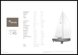 Moody Decksaloon 45 Standard Spezifikation | Moody