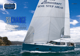 Moody Decksaloon 45: Test Review - tradeaboat | Race off into the sunset, around Australia, to Tasmania and across the Tasman in this Moody Decksaloon 45 with the works. David Lockwood speaks with the footloose owner about his exciting plans | Moody