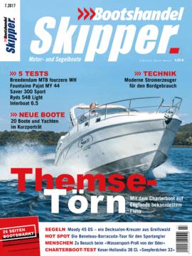 Moody Decksaloon 45: Testbericht - Bootshandel Skipper 07/2017 | Fazit: Es sind viele einzelne Gründe, sich als Langfahrtsegler für eine Moody DS45 zu entscheiden, dazu zählen neben dem Konzept »Leben auf einer Ebene« nicht zuletzt auch die überzeugenden Segeleigenschaften. | Moody