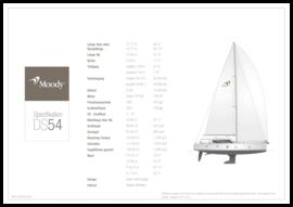 Moody Decksaloon 54   Standard Spezifikation   Moody