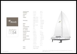 Moody Decksaloon 54 Standard Spezifikation | Moody