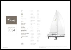 Moody Decksaloon 54 技术规格 | Moody