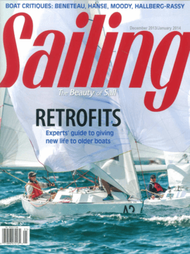 """Moody Decksaloon 54: Test Review - Saling 12/2013 