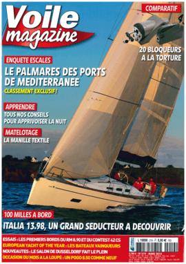 Moody Decksaloon 54: Report - Voile magazin Mars 2014 | Un maximum de volume pour un maximum de confort et de vue sur la mer à bord du Moody DS54. | Moody