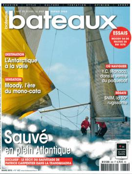 Moody Decksaloon 54: Bateaux March 2015 | Moody DS54 - La mer au salon. Deck Saloon de plain-pied et voiles 3 Di : Alain Fédensieu, l'une des plus fines barres de Méditerranée a testé pour vous ce rare cocktail. | Moody
